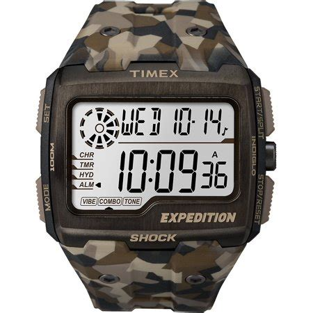 Expedition E6658m Brown timex tw4b07300 expedition grid shock s brown