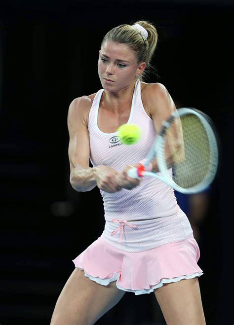 foto de Camila Giorgi Stills at Australian Open Tennis Tournament