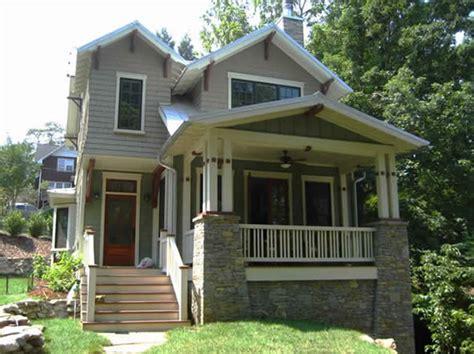 New Bungalow In Ashville  Historic House Colors