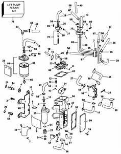 Johnson Fuel Components Parts For 1997 150hp J150icxeuc