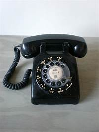old fashion phones Black Rotary Phone Old Fashioned Telephone