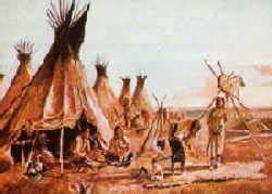 Zelt Der Indianer : die indianer in nordamerika das kulturareal pr rie ~ Watch28wear.com Haus und Dekorationen