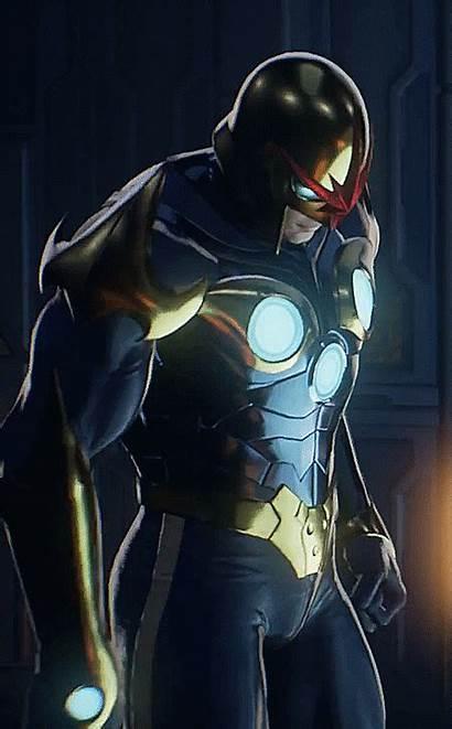 Nova Rider Richard Marvel Comics Comic Gifs