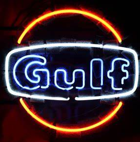 Wiki Neon Sign Blog GULF OIL GAS STATION NEON LIGHT SIGN