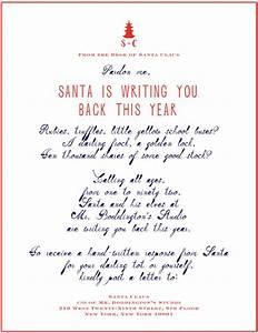 Letters to santa handwritten pinterest for Free handwritten letter from santa