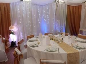 Décoration Salle Mariage : decoration pour salle mariage fete reception photo ~ Melissatoandfro.com Idées de Décoration