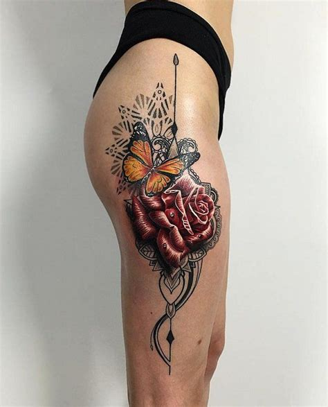 Best 20+ Thigh Tattoo Designs Ideas On Pinterest Tattoo