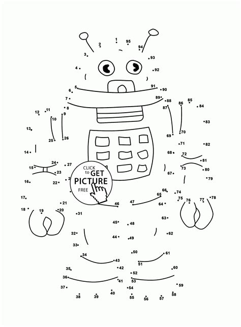 dot to dot printables for 5 year olds