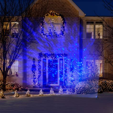 christmas light show projector gemmy lightshow christmas lights led projection