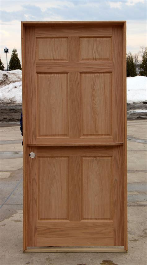oak interior dutch door  shelf