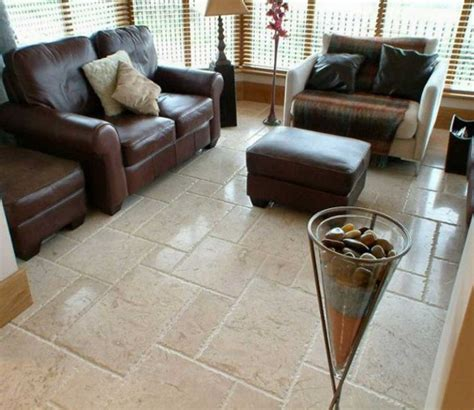 tile flooring ideas for living room with beige color ideas