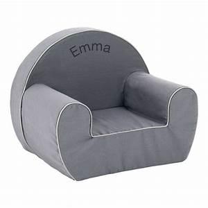 Un fauteuil club pour enfant personnalisé prénom Amikado