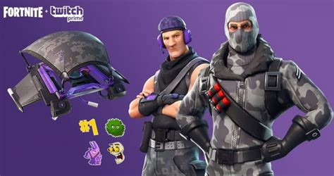 fortnite battle royale   claim twitch prime pack