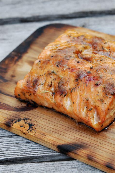grilling salmon grilled cedar planked salmon recipe dishmaps