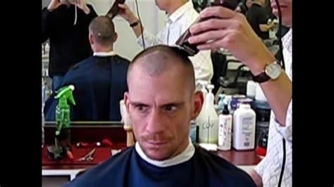 guard skinhead barbershop haircut youtube