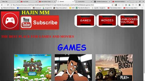 Unblock At School!!! Unblocked Gaming And Movies Website