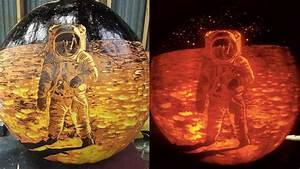 Artist turns pumpkins into museum-worthy works of art