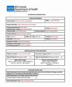 Free 10 Sample Construction Forms In Pdf Excel Ms Word