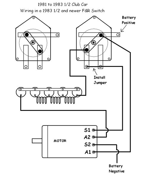 Club Car Forward Switch Wiring Diagram 48 Volt Battery by Club Car I 94 Club Car 36 Volts Goes Forward But Clicks