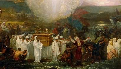 Joshua Bible Covenant Ark Jordan River Conservatism