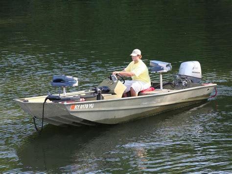 foot aluminum fishing boat