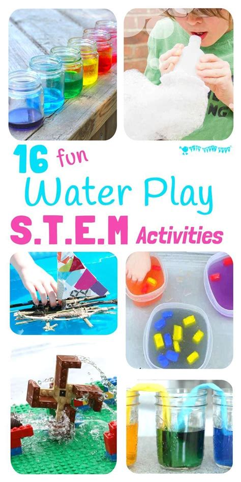 16 exciting water play stem projects summer activities 888 | 09520fcf5a07a04a6f6a75617293fe28