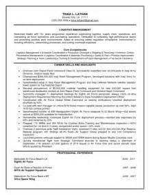 ma resume sle sle resume army logistics officer free resumes tips