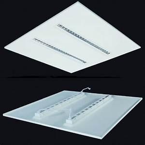 Panneau Led Pour Cuisine : panneau led modulaire haut confort visuel pour tertiaire ~ Edinachiropracticcenter.com Idées de Décoration