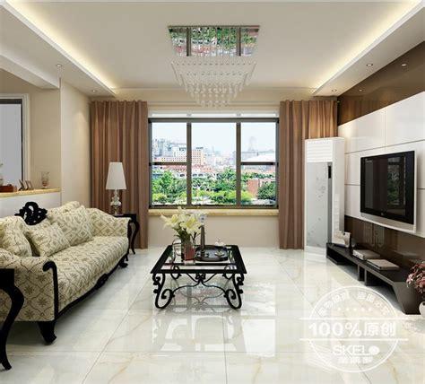 tile white jade tile living room anti fouling floor tile