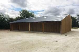 Hangar En Kit Bois : construction bois d 39 un hangar forestier fran ois rousselin ~ Premium-room.com Idées de Décoration