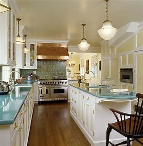 Splashy schoolhouse lighting vogue new york traditional for Kitchen colors with white cabinets with long wall art ideas