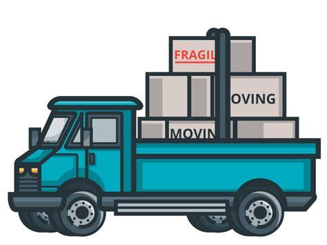 moving truck  henry limargo dribbble dribbble