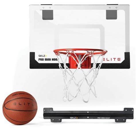 sklz mini pro basketball hoop elite  deluxe ball