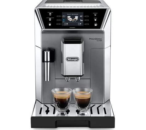 It allows you to make high quality espresso, cappuccino, and latte. DELONGHI Prima Donna Class ECAM550.75.MS Smart Bean to Cup Coffee Machine - Silver Fast Delivery ...
