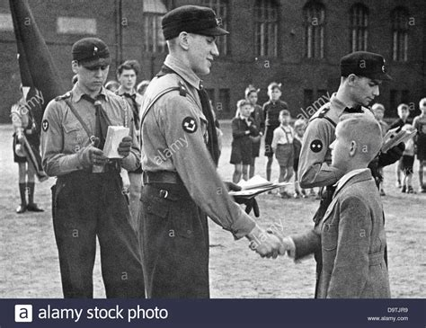 A Ten-year-old Boy Is Admitted To The German Youth, The Youth Stock Photo, Royalty Free Image