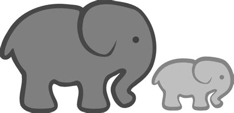 white and gray boy nursery with blue baby elephant clipart clipart panda free clipart images