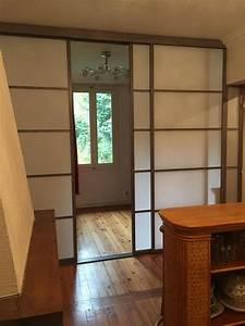 Fabriquer Une Cloison Amovible : les 193 meilleures images du tableau cloison japonaise coulissante et porte sur pinterest ~ Melissatoandfro.com Idées de Décoration