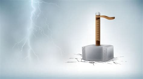 how to create thor s hammer in adobe illustrator vector