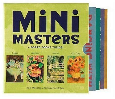mini masters boxed set art books  kids