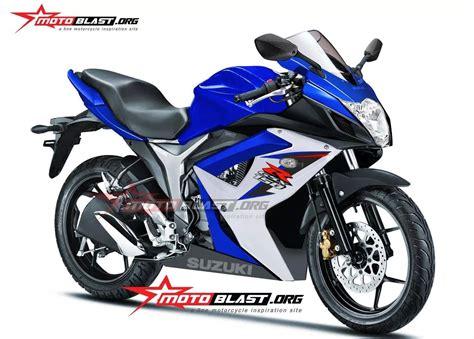 Gsx150r by Bagaimana Kalau Suzuki Gsx150r Seperti Ini Ganteng Juga