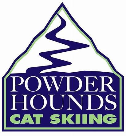 Creation Powder Skiing Cat Hounds Logos