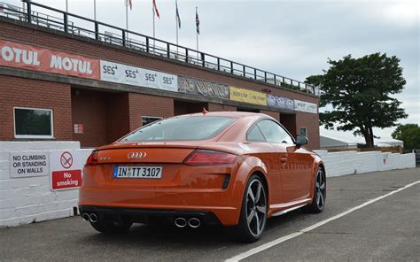 Audi Tts Coupe 2019 by 2019 Audi Tts Coupe On The Famed Mountain Course At The
