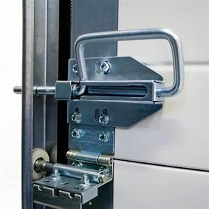verrou manuel pour porte de garage sectionnelle pieces With comment securiser une porte de garage sectionnelle