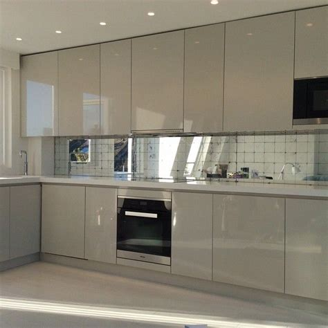 tile for kitchen floors pictures silver leaf verre eglomise splashback kitchen ideas 8489