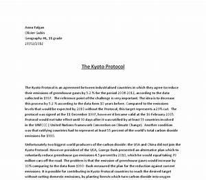 Sample Narrative Essay High School Kyoto Protocol Essay Outline Apa Essay Papers also Science Essay Ideas Kyoto Protocol Essay Pay Writing A Case Report Kyoto Protocol Essay  Mahatma Gandhi Essay In English