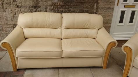 leather bed settees leather bed settee with matching chair in
