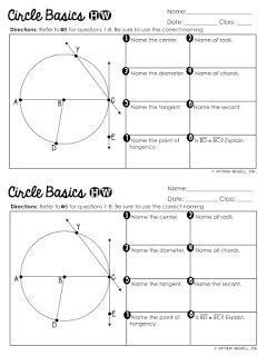 free circle basics worksheet geometry worksheets special education math teaching geometry