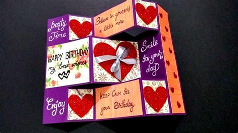 13 Handmade Birthday Card Ideas for Boyfriend Easy Step by