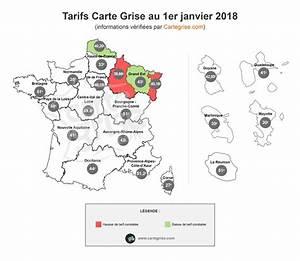 Tarifs Carte Grise 2017 : volution des prix du cheval fiscal en 2018 ~ Maxctalentgroup.com Avis de Voitures