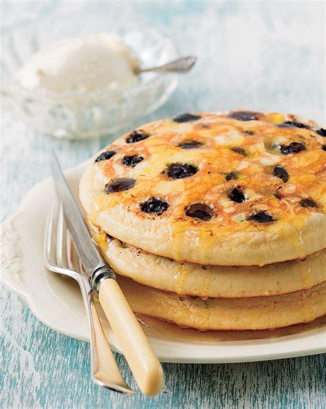 pancakes cuisine az blueberry pancakes orange syrup pancake recipe sbs food